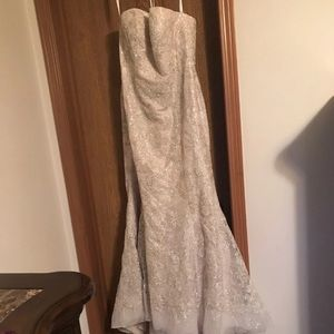 Brand new with tags Galina Signature Wedding dress